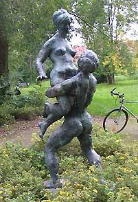 erotische Skulptur in Wismar