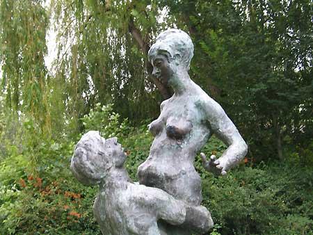 Paarskulptur in Wismar