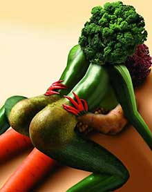 erotisches Gemüse