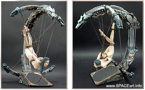 Bondage-Figur, Modellbausatz