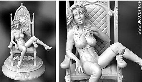 erotische Figur, unbemalt